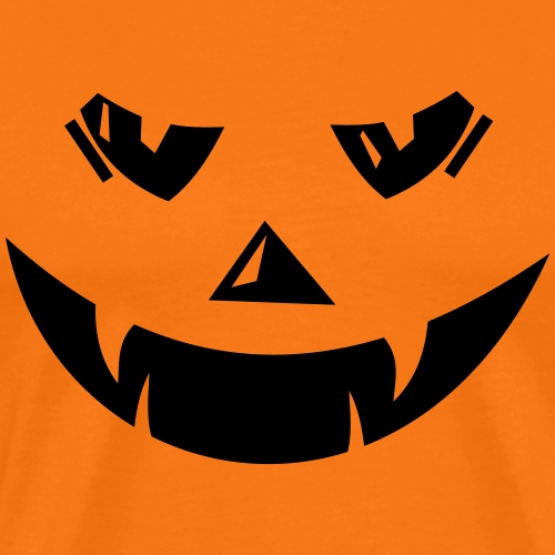 Halloween Pumpkin Kuerbiskopf Klaus - Männer Premium T-Shirt