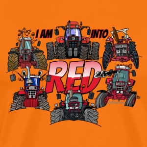 i am into red - Men's Premium T-Shirt