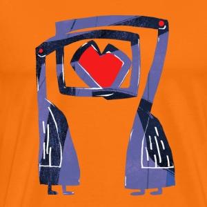 Love birds - Mannen Premium T-shirt