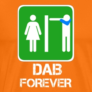 DAB FOREVER toilet / bathroom Dabbare - Men's Premium T-Shirt