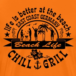 Chill Grill East Coast - Mannen Premium T-shirt