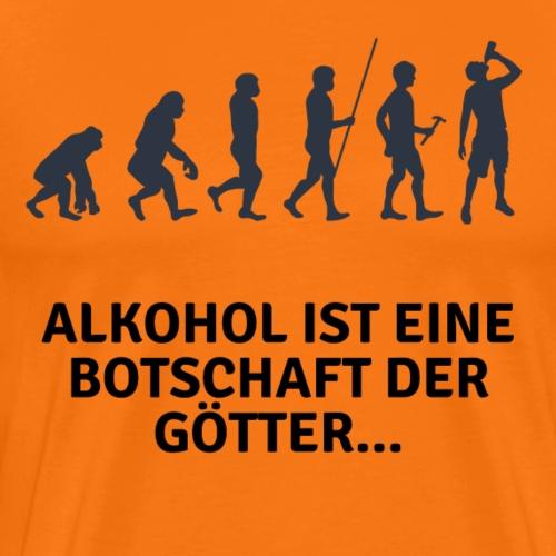 Witziges Party Design Alkohol - Männer Premium T-Shirt