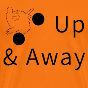 Up & Away - Herre premium T-shirt