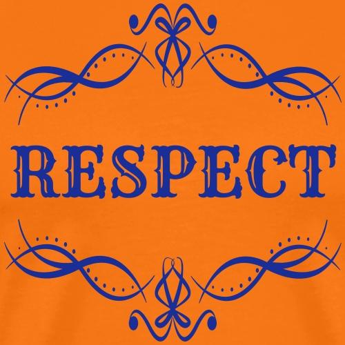 Respect (Colour Changeable) - Men's Premium T-Shirt