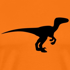 Raptor / Velociraptor (extinct prehistoric Dino) - Men's Premium T-Shirt