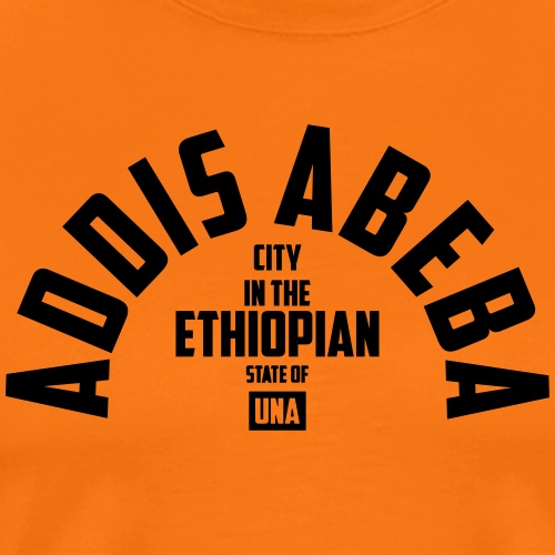 Addis Ababa - Men's Premium T-Shirt