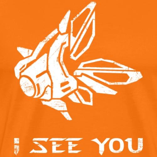 Observer ~ I See You - Männer Premium T-Shirt