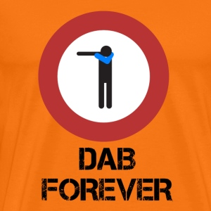 DAB ALT / Prohibited dabbare - Men's Premium T-Shirt