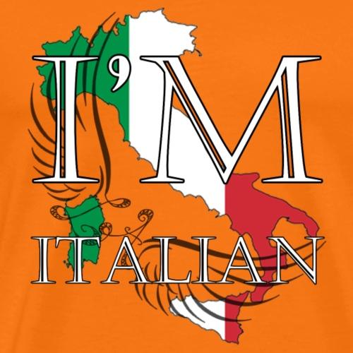 I am Italian - Maglietta Premium da uomo