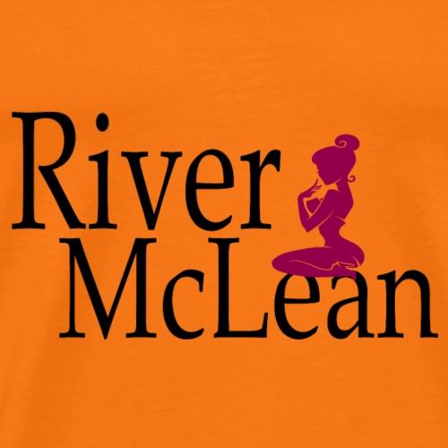 River McLean Logo - Männer Premium T-Shirt