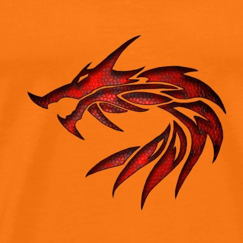 dragon tribal 1a - T-shirt Premium Homme