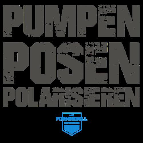 PUMPEN POSEN POLARISIEREN (anthrazit/himmelblau) - Männer Premium T-Shirt