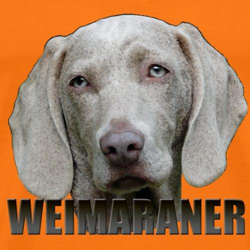 Weimaraner - Premium T-skjorte for menn