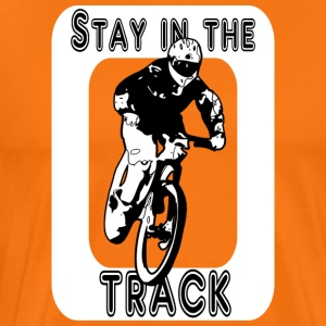 Stay in the track sw - Men's Premium T-Shirt