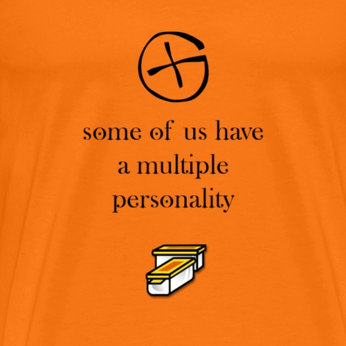 multiple personality - T-shirt Premium Homme