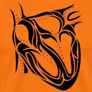 Heart - Herre premium T-shirt