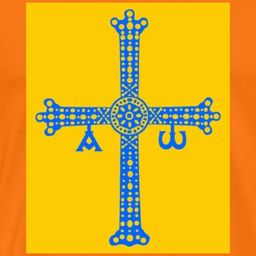 Cruz de Asturias - Camiseta premium hombre