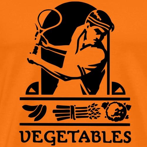 tennis vegetable - T-shirt Premium Homme