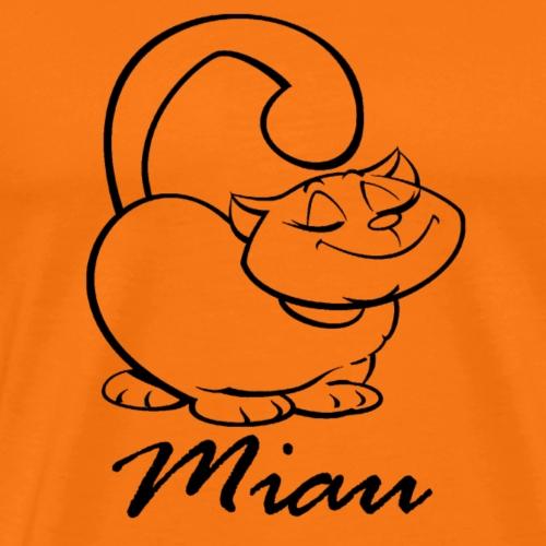 Katze Miau Kätzchen Kater Mieze Haustier lustige - Männer Premium T-Shirt