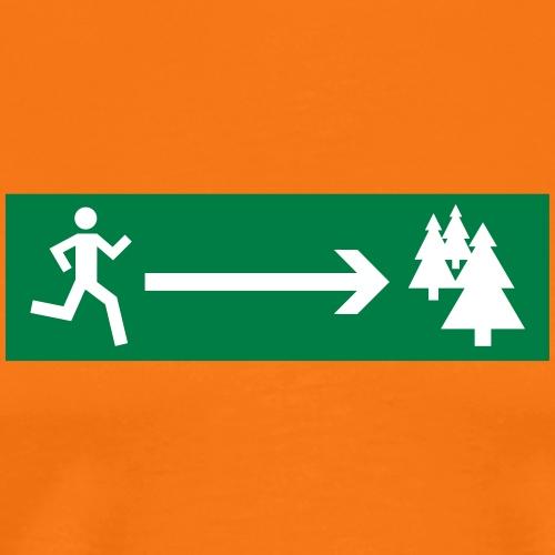Waldlauf - Männer Premium T-Shirt