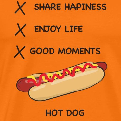 HOT DOG LIFE - T-shirt Premium Homme