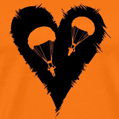 Parachute Heart - Männer Premium T-Shirt