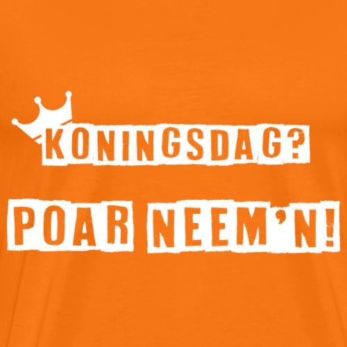 poar neemn - Mannen Premium T-shirt