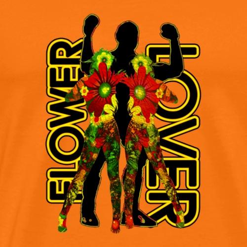 FLOWER LOVER - T-shirt Premium Homme