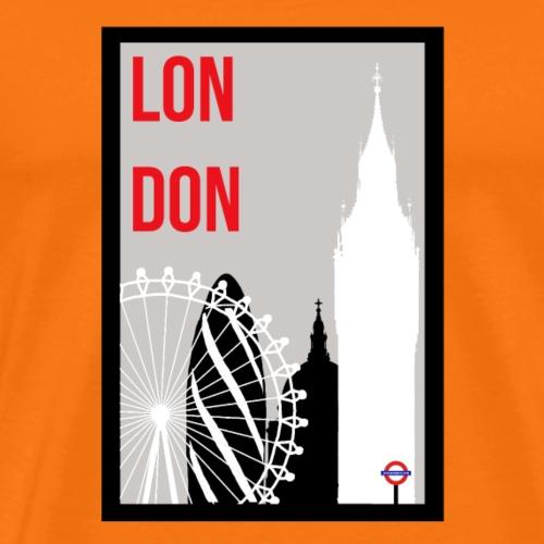 London Skylines - Men's Premium T-Shirt