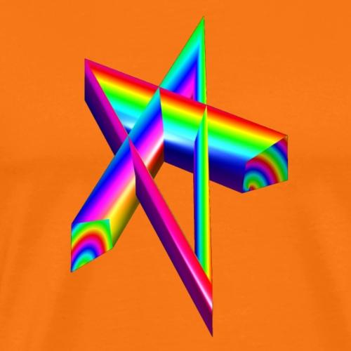 Regenbogeneck - Männer Premium T-Shirt