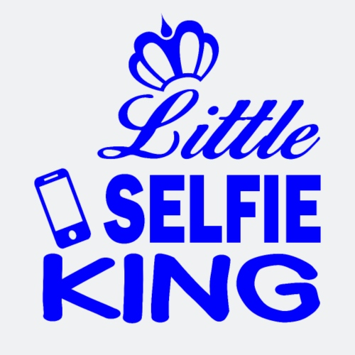 Little SELFXX KING - Männer Premium T-Shirt
