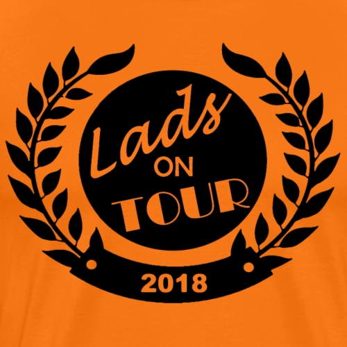 Lads On Tour - 2018 - Black - Men's Premium T-Shirt