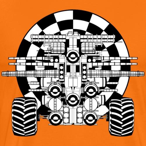 bass overdose - Männer Premium T-Shirt