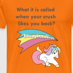 Einhorn - Imagination - Premium T-skjorte for menn