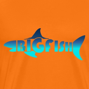 BIG FISH - Premium-T-shirt herr