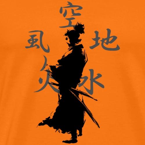 SAMURAI GODAI - Camiseta premium hombre