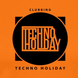 logo_techno_holiday_2017_negro1 - T-shirt Premium Homme