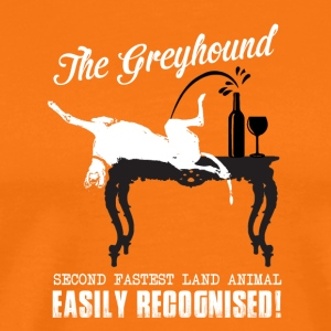 The greyhound - Men's Premium T-Shirt