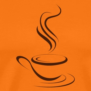 Hot coffee - Men's Premium T-Shirt