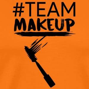 Beauty / Makeup: #TeamMakeup - Premium T-skjorte for menn