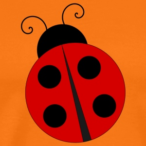 Ladybug with four black dots - Men's Premium T-Shirt