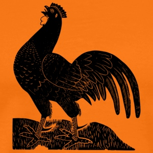 chicken34 - Premium-T-shirt herr