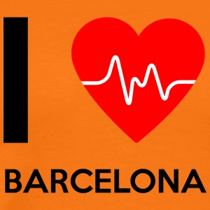 I Love Barcelona - I love Barcelona - Men's Premium T-Shirt
