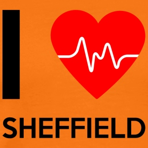 I Love Sheffield - I love Sheffield - Men's Premium T-Shirt