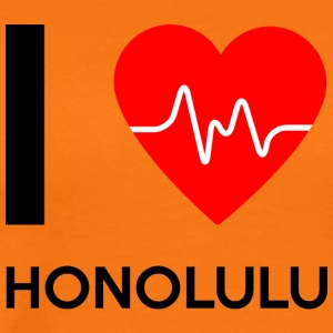 I Love Honolulu - I Love Honolulu - Men's Premium T-Shirt