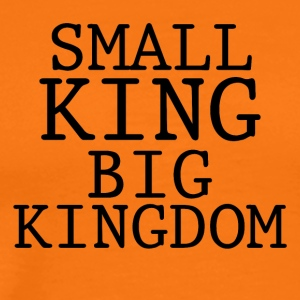 LITEN KING BIG KINGDOM - Premium T-skjorte for menn