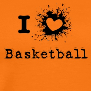 ILove Basketball - Men's Premium T-Shirt