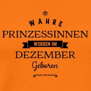 december - Mannen Premium T-shirt