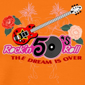 50 s rock n roll - Men's Premium T-Shirt