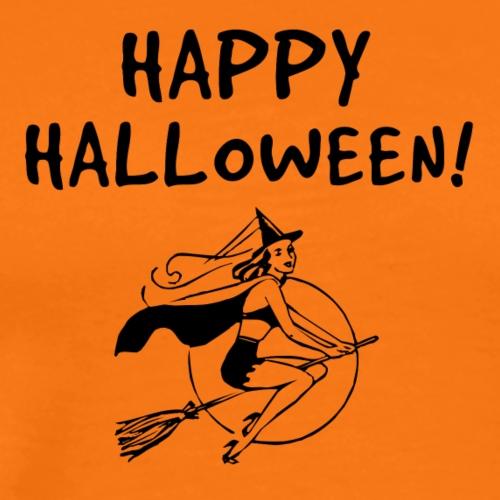 Happy Halloween - Sexy Witch - Männer Premium T-Shirt